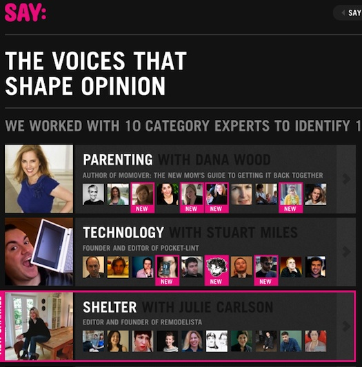 SayMedia 100 Voices that Matter