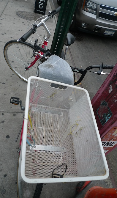 rigged bike carrier