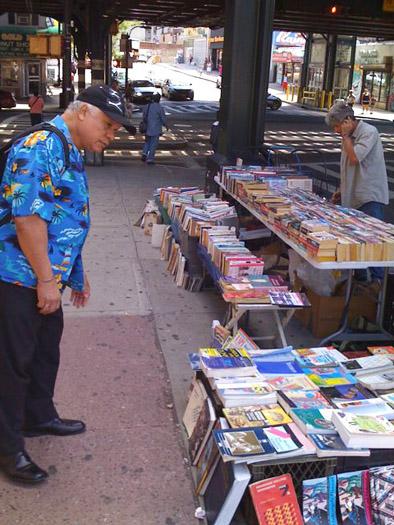 bronx bookseller Mark Givre