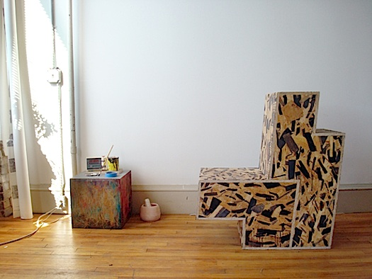 waferboard chair Rolu