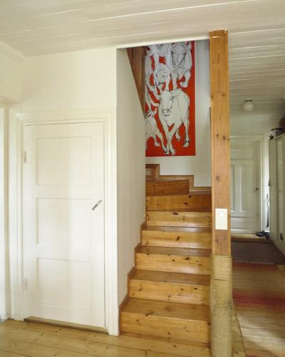 Bovik Farm Finland stair well