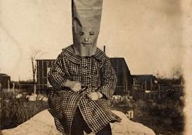 paper bag halloween costume