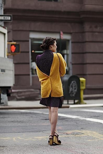 cardigan worn backwards
