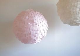 crepe paper lantersn