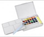 watercolor field paint box