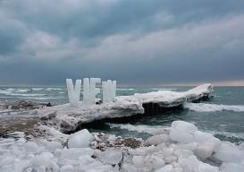 VIEW ice art