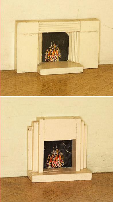 dollhouse fireplaces spliced