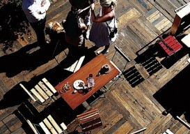 Arctic plank floor