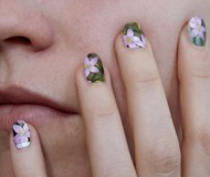 flower stamp nail polish