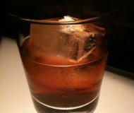 Bacon Infused Old Fashioned Coctail from PDT