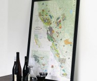 Wine Map of California