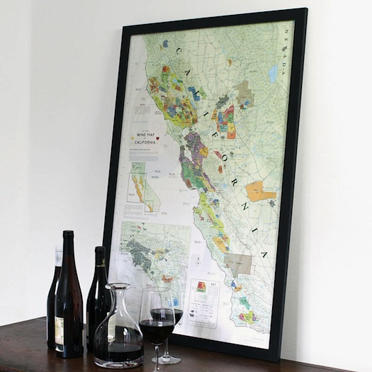 Wine Map of California