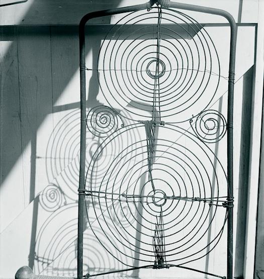 Calder Makeshift garden chair grill