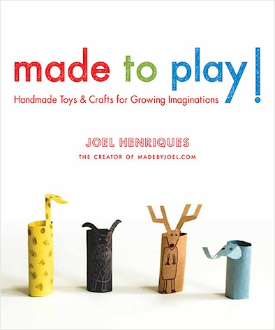made to play, made by joel, joel henrique, kid's books