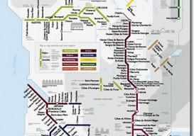 Metro Wine Map France