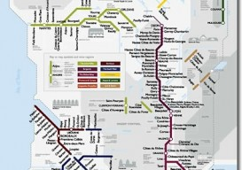 Metro Map of France