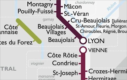 paris metro map wine