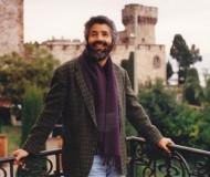 Algerian poet Rabah Belamri at La Napoule, France