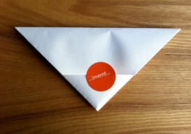 triangular letter sealed
