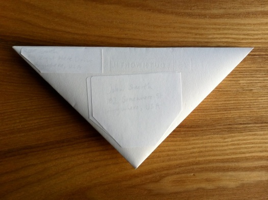 triangular letter relabeled