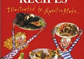 Roald Dahl's revolting recipes, kid's books