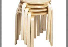 Ikea Frosta stool stack