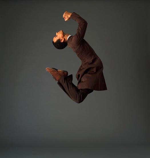 Christophe Jeannot in Martha Graham Dance Company's Appalachian Spring