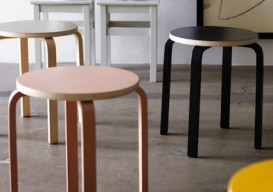 ikea frosta stool painted