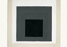 Josef Albers painting in neutrals from Homage to the Square