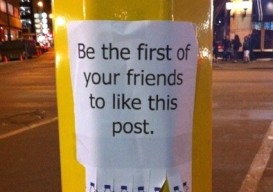 Be the First of your Friends Sign