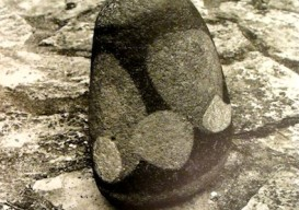 Max Ernst painted stone sculpture 2