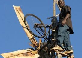 William Kamkwamba's windmill