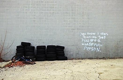 uplifting graffiti
