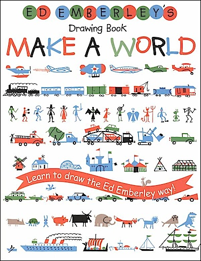 ed emberley make a world drawing book