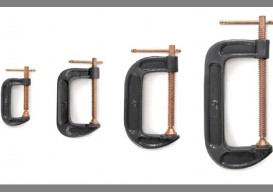 copper plated c-clamps
