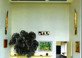 geometric ceiling by gio ponti