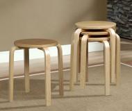 Alvar Aalto stool knock-off