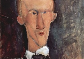 blaise cendrars by modigliani