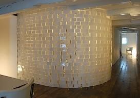 ikea rektangel vase wall