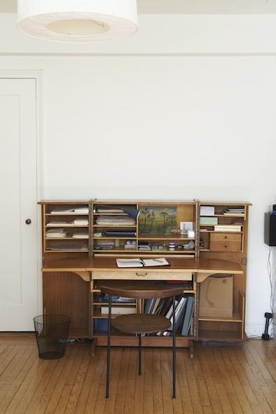 1950's folding desk
