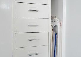Ikea drawers w handles