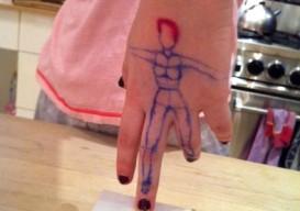 Izzy's hand dancing 3