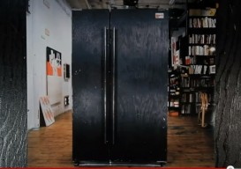 Tom Sachs Black Fridge