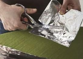 sharpen scissors w foil
