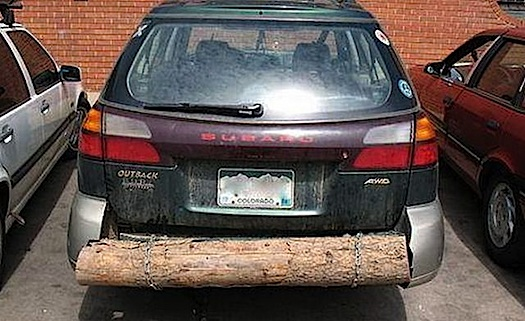car bumper improv
