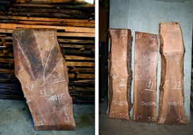 wood slabs for d-i-y tables