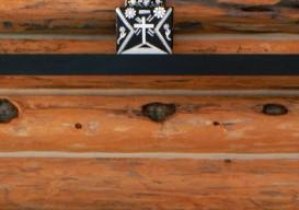 Laura Handler Montana Cabin shrine