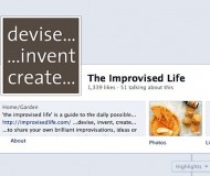 Improvised Life's Facebook page