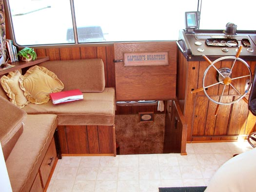 Tracy Metro houseboat renovation