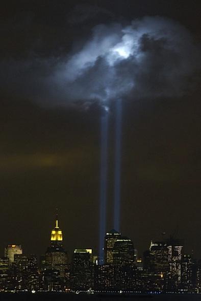 9.11 laser beam memorial